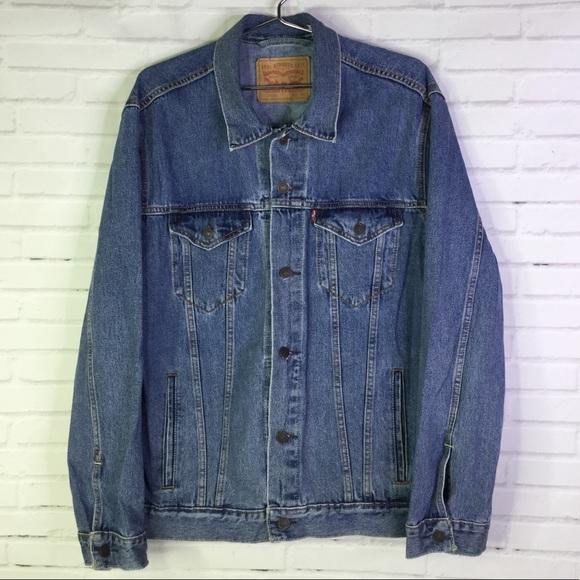 Levi's Men's XL Classic Denim Jean Trucker Jacket